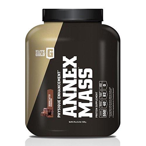 Complete Nutrition Elite Gold Annex Mass Whey Protein Powder, Brownie...