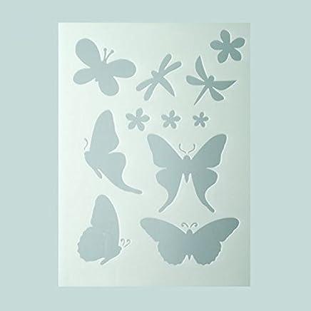 Amazon.it: stencils farfalle: Casa e cucina