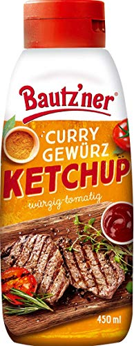 Bautz'ner Curry Gewürz Ketchup 450ml