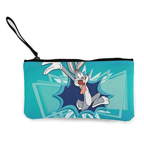 Bugs Bunny Damen Herren Geldbörse Geldbörse Handytasche Kosmetiktasche mit Reißverschluss