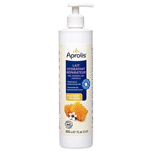 Aprolis Apinat - Aprolis Lait hydratant réparateur : manuka propolis BIO - 400 ml - BIO