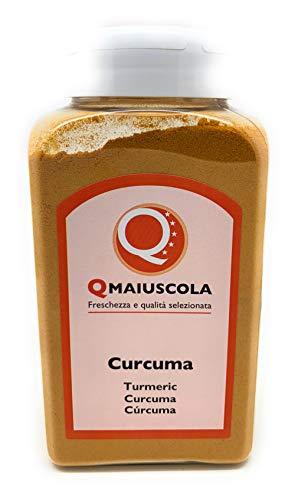 Curcuma in Polvere - 360 g - Spezia Pregiata Sapore Muschiato - Conosciuto come Zafferano delle Indie - Per Pollo, Gamberi, Zuppe, Patate o Torte Salate