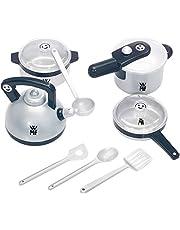 Theo Klein 9430 WMF - Juego de ollas para cocina infantil