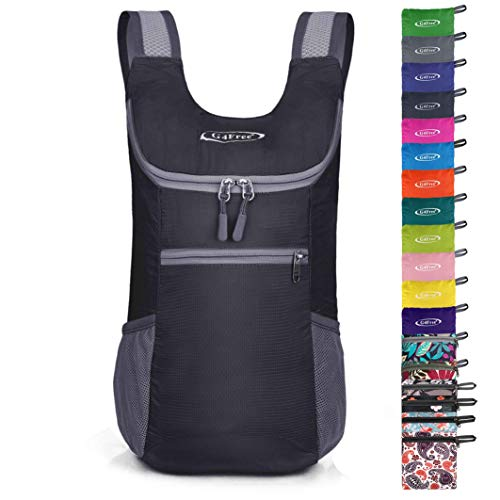 G4Free Ultra Lightweight Small Rucksack Foldable Backpack Packable Rucksack 11L for Travelling Walking Cycling Hiking or Multipurpose Daypacks Unisex