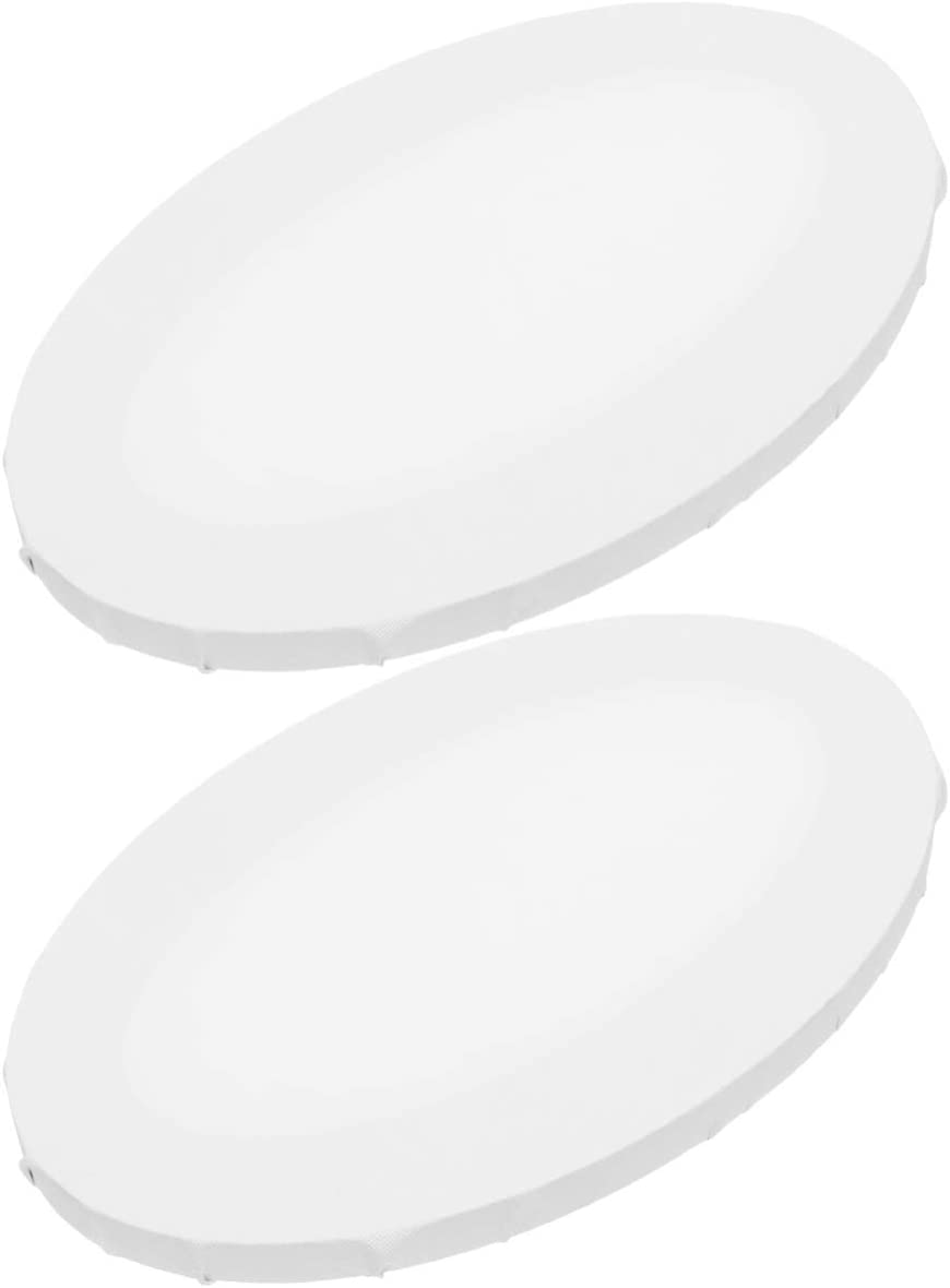 EXCEART 2pcs Canvas Colorado Springs Mall Panel Boards Painting Drawing Shape New Shipping Free for Oval