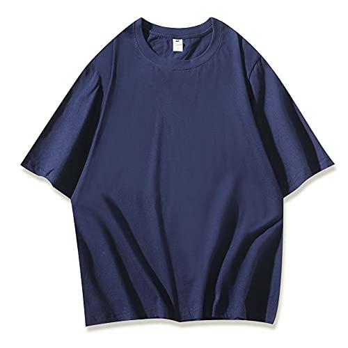 Camiseta Suelta de Manga Corta de Equipo Personalizado de Uniforme de Cuello Redondo de algodón de Estudiante de Color Caramelo Suelto Hermanas Mujeres