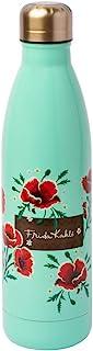 Erik CFK003 Frida Kahlo Water Bottle- Sports Bottle-500ml / 17OZ, Stainless Steel
