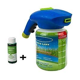 Adaym Pulvérisateur de semences de Gazon Liquide pour pelouse (1 Bouteille de Solution nutritive)