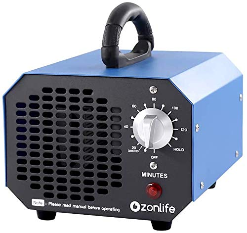 Ozonlife Commercial Ozone Generator 6000 mg/h Industrial Air Purifier Ionizer