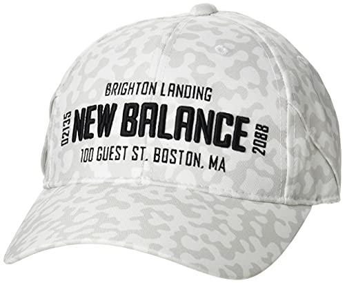 [ニューバランス ゴルフ] [ユニセックス] キャップ (サイズアジャスター機能 57cm) / 帽子 ゴルフ / 012-1287001 030_ホワイト FR