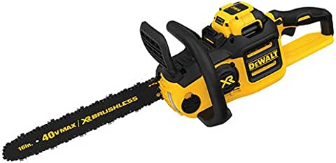 DEWALT 40V 6AH Lithium Ion XR Brushless Chainsaw