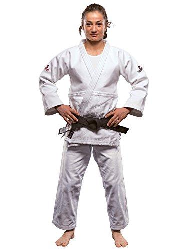 DanRho Judogi Ultimate 750 IJF Approved mit Label weiß Judoanzug Gi