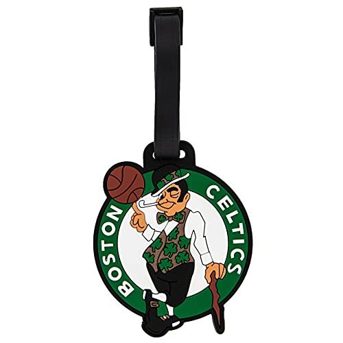 Boston Celtics Team NBA National Basketball Association Luggage Tag Bag (PVC Luggage Tag)