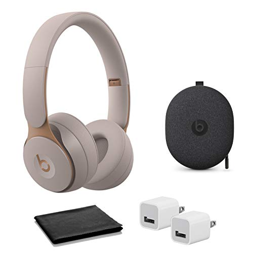 Beats Solo Pro Wireless Noise Cancelling Headphones - Grey with USB Adapter