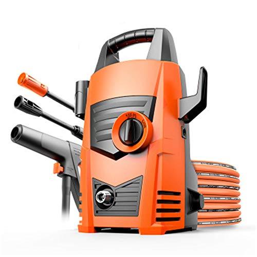 CRZJ Hochdruckreiniger, 1800W Motor elektrische Waschmaschine mit Verstellbarer Düse, Schaumkanone