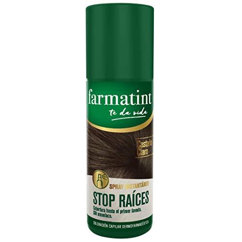 Farmatint Spray Instantáneo Capilar Stop Raíces, Color