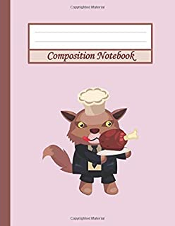 Composition Notebook: Funny Video Game Masterchef | 8.5 x 11 120 Pages of Wide Ruled Paper Notebook Journal | Nifty Wide B...