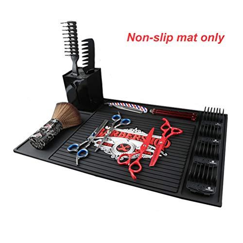 Nargut Flexible PU rutschfeste hitzebeständige Salonmatte Friseur-Werkzeug-Halterung für Friseur-Zubehör