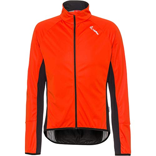 LÖFFLER Herren Bike Jacket Alpha WS Light Fahrradjacke orange 46