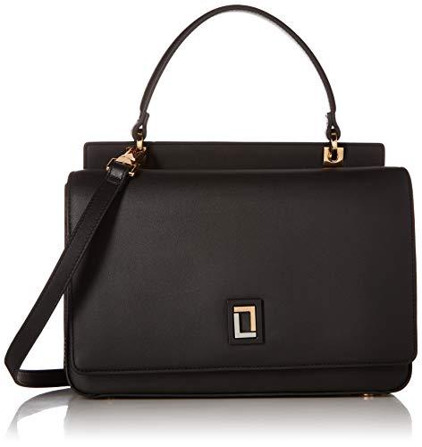 LUANA ITALY Sofia Mini bolso de mujer de ébano, Negro (Ebany), Talla única