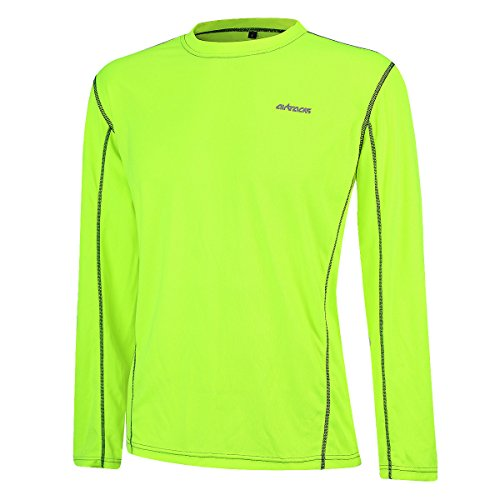 Airtracks Funktions Laufshirt Langarm Pro Air - neon - XL