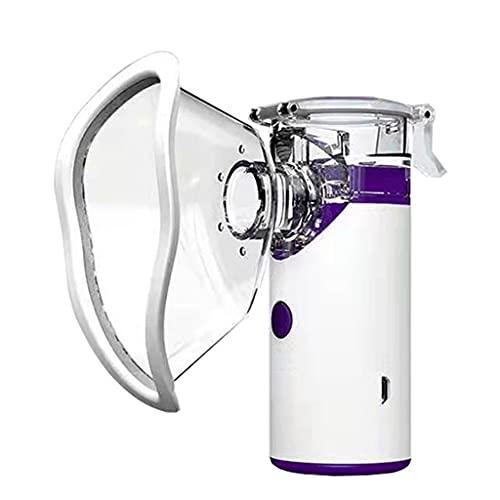 NC NC Nebulizador portátil, inhalador, Equipo de pulverización para Adultos, inhalador para el Cuidado de la Salud, Carga USB, Adecuado para Todas Las