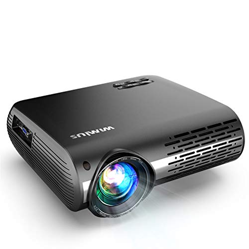 Native 1080P Projector, WiMiUS 7500L LED Video Projector Support 4K 200
