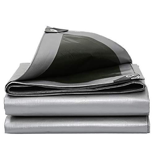 Abdeckplane Gewebeplane Blau Silber Tarp Sheet Hochwertige Abdeckung Aus 180 Gramm/Quadratmeter Plane Ground Sheet Cover(Size:2 * 2m)