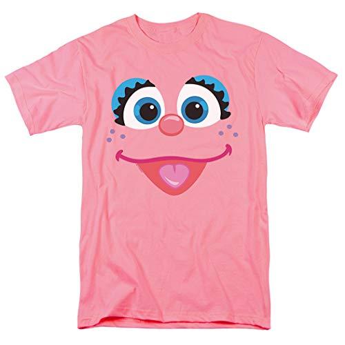 Sesame Street Abby Cadabby Face T Shirt & Stickers (Large)