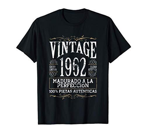 Vintage 1962 - 59 años Cumpleaños Regalo de Hombre Mujer Camiseta