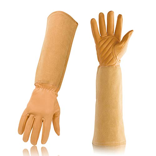 Gardening Gloves Professional Rose Pruning Thorn & Cut Proof with Long...