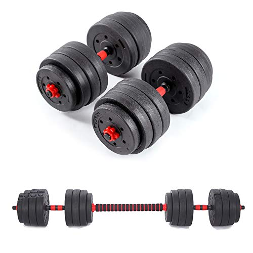 OUTDOOR DOIT Adjustable Dumbbells Weights set for Men and Women, Professional Hand Weight Barbell Lifting Dumbells for Bodybuilding Fitness Weight Lifting Training for Home Office 10KG 20KG 40KG (40)
