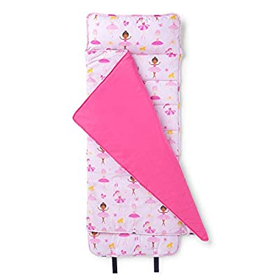 Wildkin Original Nap Mat with Pillow for Toddler Boys and Girls