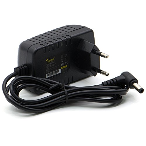 LEICKE Cargador 9V 2A 18W | para Impresora de Etiquetas, impresoras, escáneres, Switch, routers, Pantallas, Arduino UNO R3 Rev 3 / Mega 2560 R3 / Elegoo UNO R3 / IEIK UNO R3 y más