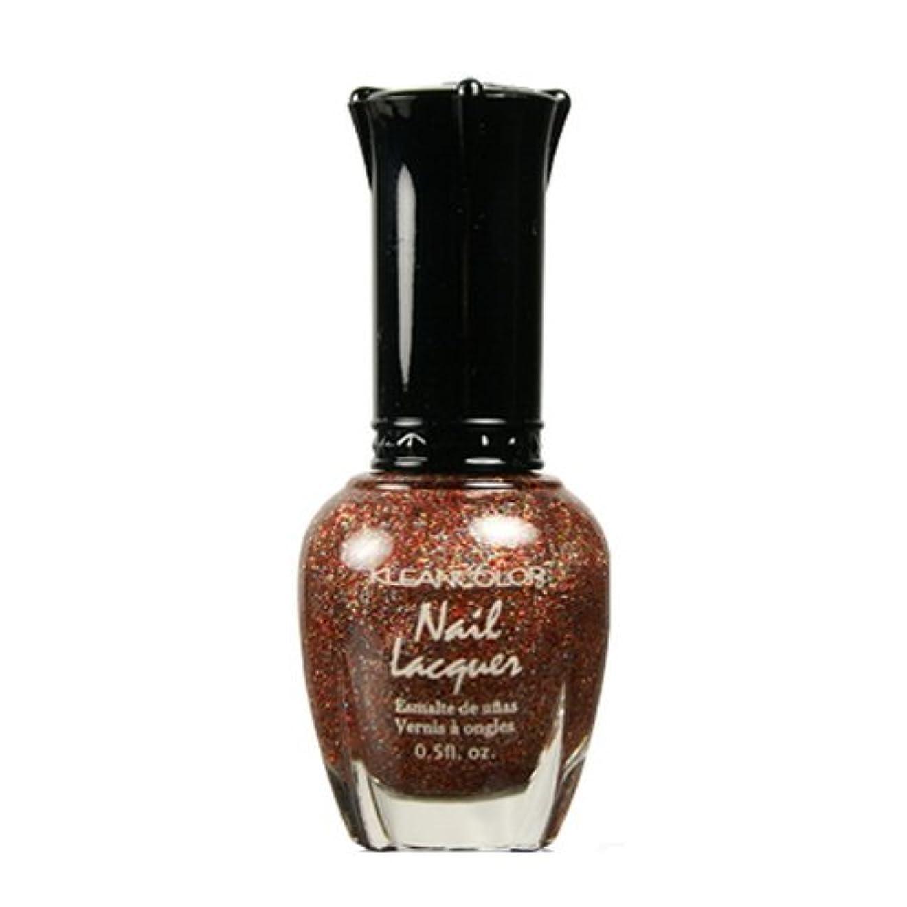 パス陽気な章KLEANCOLOR Nail Lacquer 4 - Salsa Much (並行輸入品)