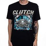 GOFFFECC Men's Clutch Band Sporty and Comfortable Tshirt XXL Black