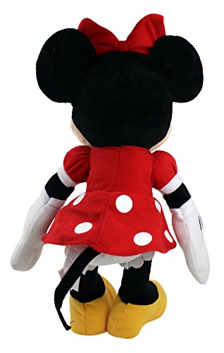 "Disney Mickey Mouse Clubhouse Plush 17"" Minnie Red Dress 2"