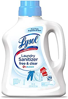 Lysol Free & Clear Laundry Sanitizer Additive, 90 Oz