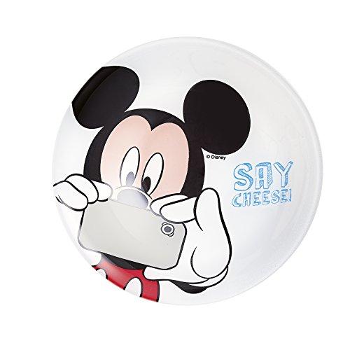 Luminarc 8021628Mickey Party–Cuenco Multiusos Disney Mickey Party de Cristal diámetro 16cm-8021628Cristal Negro 16, 5x 4, cm