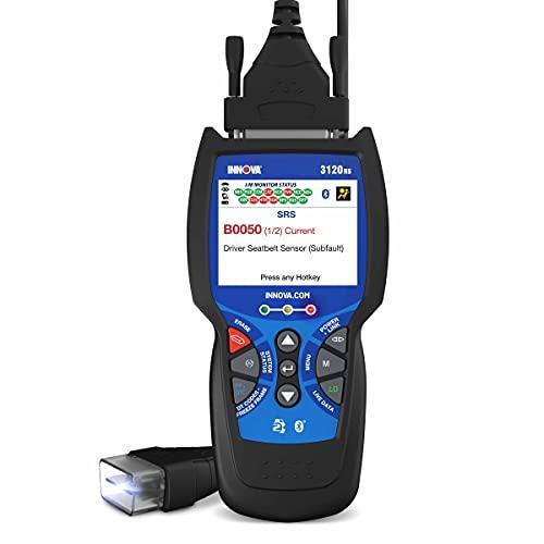 INNOVA 3120RS Code Scanner - Professional OBD2 Scanner - Smog Test Scan Tool - ODB1 Adapters - RepairSolutions2 App