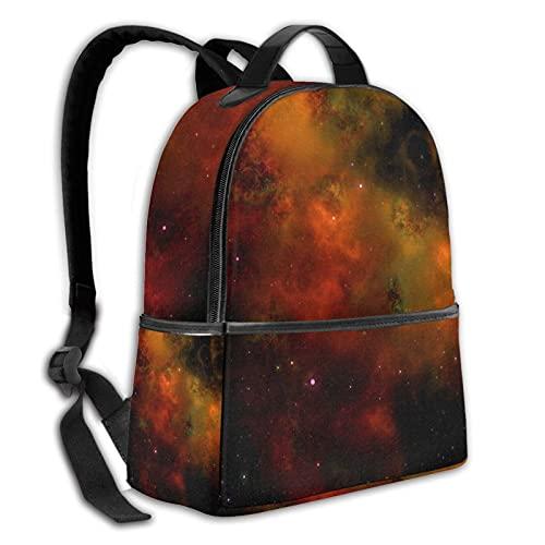 fepeng Mochila duradera Space College School Bag Boy Girl Hombres y Mujeres Mochila de viaje, Espacio1, Talla única