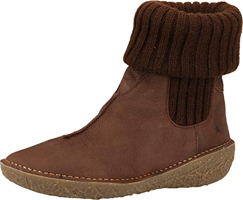 El Naturalista Femme Bottines, Dame Bottines,Bottes,Bottine,Bottillon,Plat,Marron(),39 EU / 6 UK