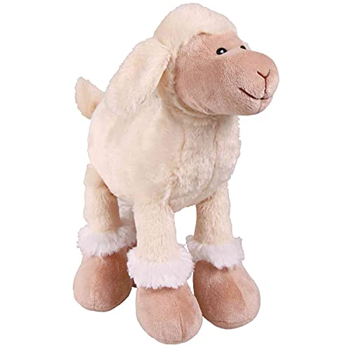 Trixie SOFT WHITE SQUEAKY SHEEP Spielzeughund