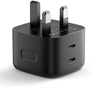 UGREEN PD 65W GaN Charger USB C Power Adapter Dual Type C Laptop Wall Charging Plug GaN Power Delivery Compatible with Mac...