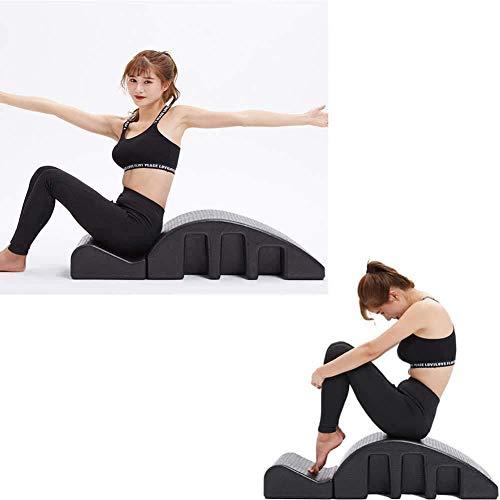 YUYTIN Pilates Massage Cama, Ortesis de la Columna de la Columna Pilates deformidad espinal Corrección Cervical Corrección de Espuma Corrección Corrección Equipo de Aptitud Pilates ARC