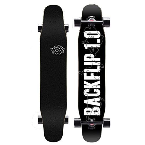 XUEYING-KickScooter Professional Beginner Skateboard Longboard Adult Boy Female Generation Youth Four Wheel Skateboard (Color : C)