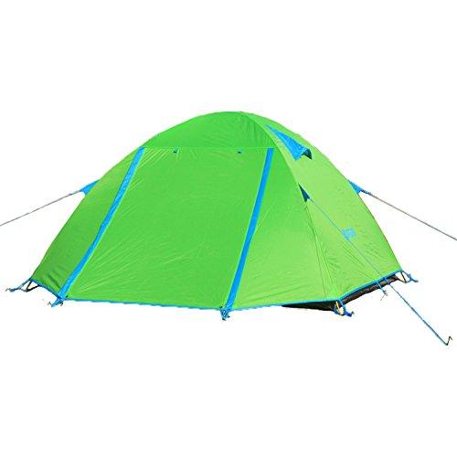 Himalaya Campingzelt Kuppelzelt Zelt Outdoor Camping 3 Personen HT301 mit Aluminiumgestänge - grün