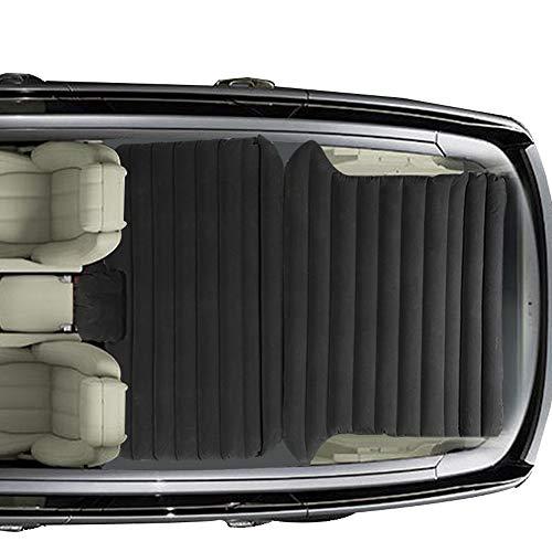 Sinbide Auto SUV MVP Luftmatratze|Gästebett|Luftmatratze Bett|Isomatte Camping selbstaufblasbar aufblasbarmit Pumpe (schwarz02)
