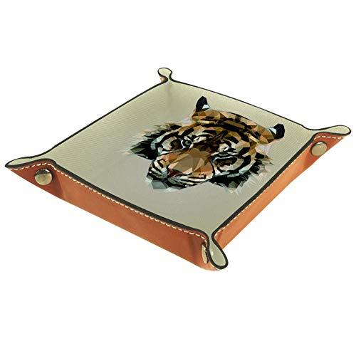 laire Daniel Mooie twee katten Keys Caddy nachtkastje Organizer Catchall lade voor dobbelstenen houder veranderen munten portemonnee sieraden make-up Trinkets, twee maten