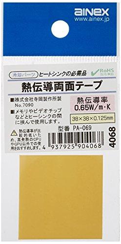 アイネックス AINEX CPU用熱伝導 両面テープ PA-069